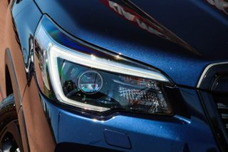 2020 Subaru Forester S5 MY21 2.5i Sport CVT AWD Blue 7 Speed Constant Variable Wagon