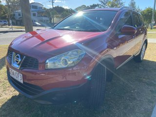 2013 Nissan Dualis J107 Series 3 MY12 +2 Hatch X-tronic 2WD ST Red 6 Speed Constant Variable.