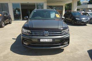 2018 Volkswagen Tiguan 5N MY19 162TSI DSG 4MOTION Highline Grey 7 Speed Sports Automatic Dual Clutch.