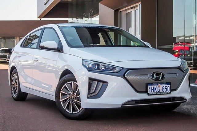 Demo Hyundai Ioniq AE.V4 MY21 electric Elite Osborne Park, 2021 Hyundai Ioniq AE.V4 MY21 electric Elite Polar White 1 Speed Reduction Gear Fastback
