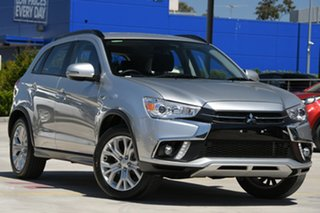 2019 Mitsubishi ASX XC MY19 ES 2WD ADAS Sterling Silver 1 Speed Constant Variable Wagon.