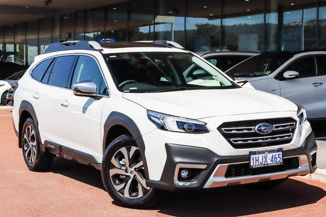 Demo Subaru Outback AWD Touring Gosnells, 2021 Subaru Outback 6GEN AWD Touring White Constant Variable SUV