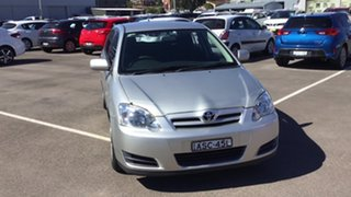 2004 Toyota Corolla ZZE122R Ascent Silver 4 Speed Automatic Hatchback.