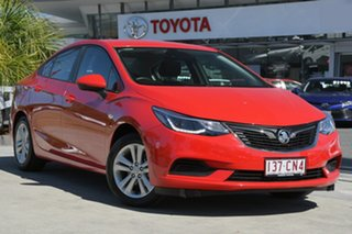 2018 Holden Astra BL MY18 LS+ Red 6 Speed Sports Automatic Sedan.