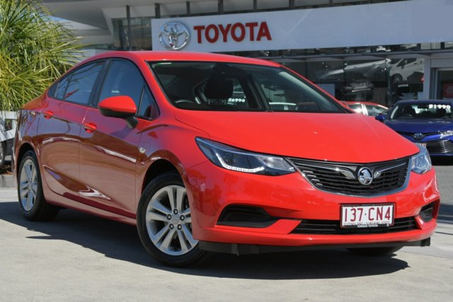 Used Holden Astra BL MY18 LS+ North Lakes, 2018 Holden Astra BL MY18 LS+ Red 6 Speed Sports Automatic Sedan