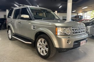 2013 Land Rover Discovery 4 Series 4 L319 MY13 SDV6 HSE Beige 8 Speed Sports Automatic Wagon.