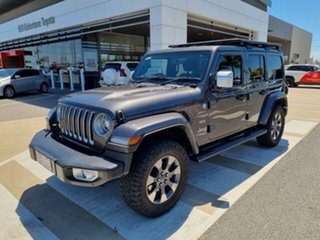2018 Jeep Wrangler Unlimited JK MY18 Overland (4x4) Grey 5 Speed Automatic Hardtop