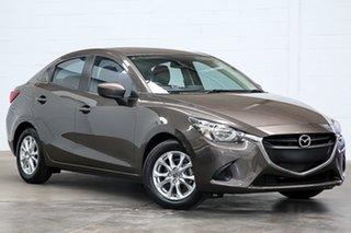 2016 Mazda 2 DL2SAA Maxx SKYACTIV-Drive Bronze 6 Speed Sports Automatic Sedan.