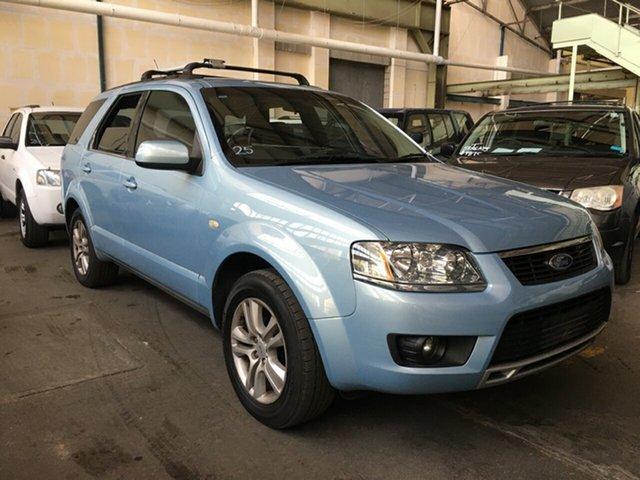 Used Ford Territory SY MkII TS Blair Athol, 2009 Ford Territory SY MkII TS Blue 4 Speed Sports Automatic Wagon