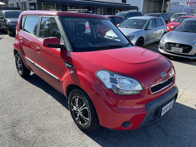Used Kia Soul AM MY10 2 Gepps Cross, 2009 Kia Soul AM MY10 2.0 Red 5 Speed Manual Hatchback