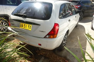 2000 Ford Laser KN LXI White 4 Speed Automatic Hatchback