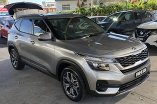 2020 Kia Seltos MY20 Sport+ (FWD) Steel Grey Continuous Variable Wagon