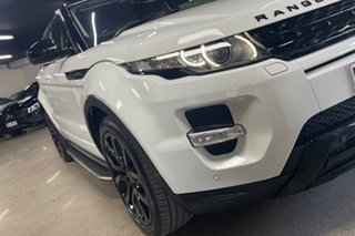 2015 Land Rover Range Rover Evoque L538 MY15 SD4 Dynamic White 9 Speed Sports Automatic Wagon.