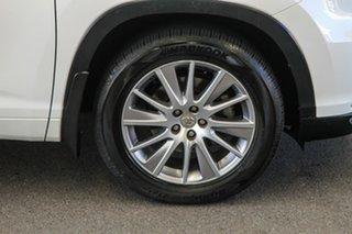2014 Toyota Kluger GSU55R Grande (4x4) Crystal Pearl 6 Speed Automatic Wagon