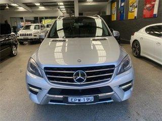 2014 Mercedes-Benz M-Class W166 ML500 Iridium Silver Sports Automatic Wagon