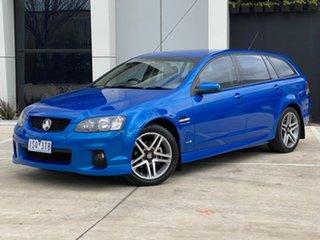 2011 Holden Commodore VE II SV6 Sportwagon Blue 6 Speed Sports Automatic Wagon.