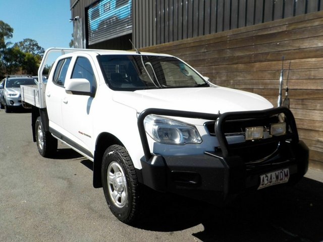 Used Holden Colorado RG MY16 LS Crew Cab Labrador, 2016 Holden Colorado RG MY16 LS Crew Cab White 6 Speed Sports Automatic Cab Chassis