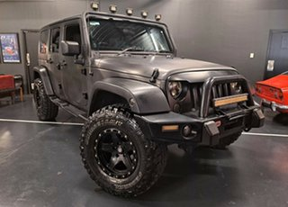 2008 Jeep Wrangler JK Unlimited Rubicon 4 Speed Automatic Softtop.