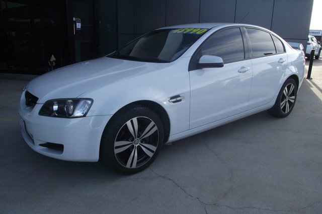Used Holden Commodore VE MY09 60th Anniversary North Rockhampton, 2008 Holden Commodore VE MY09 60th Anniversary White 4 Speed Automatic Sedan