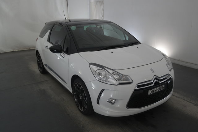 Used Citroen DS3 MY14 DSport Maryville, 2014 Citroen DS3 MY14 DSport White 6 Speed Manual Hatchback