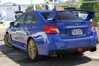 2018 Subaru WRX V1 MY19 STI AWD Blue 6 Speed Manual Sedan.