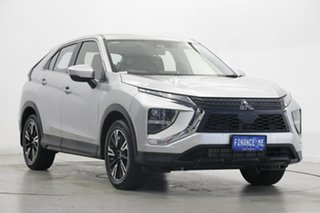 2020 Mitsubishi Eclipse Cross YB MY21 ES 2WD Sterling Silver 8 Speed Constant Variable Wagon