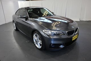 2015 BMW 2 Series F22 220i M Sport Grey 8 Speed Sports Automatic Coupe.