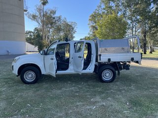 2018 Isuzu D-MAX MY18 SX Crew Cab 4x2 High Ride White 6 Speed Sports Automatic Cab Chassis