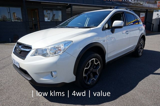Used Subaru XV G4X MY13 2.0i Lineartronic AWD Dandenong, 2012 Subaru XV G4X MY13 2.0i Lineartronic AWD Satin White Pearl 6 Speed Constant Variable Wagon