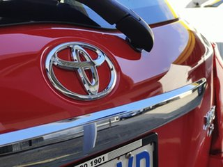 2012 Toyota Yaris NCP130R YR Red 4 Speed Automatic Hatchback