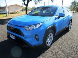 2021 Toyota RAV4 Mxaa52R GX 2WD Eclectic Blue 10 Speed Constant Variable Wagon