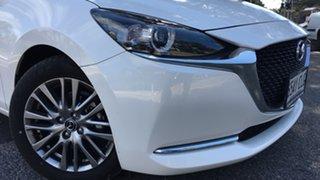 2021 Mazda 2 DJ2HAA G15 SKYACTIV-Drive Evolve White Pearl 6 Speed Sports Automatic Hatchback.