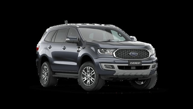 New Ford Everest UA II 2021.75MY Trend Cardiff, 2021 Ford Everest UA II 2021.75MY Trend Meteor Grey 6 Speed Sports Automatic SUV