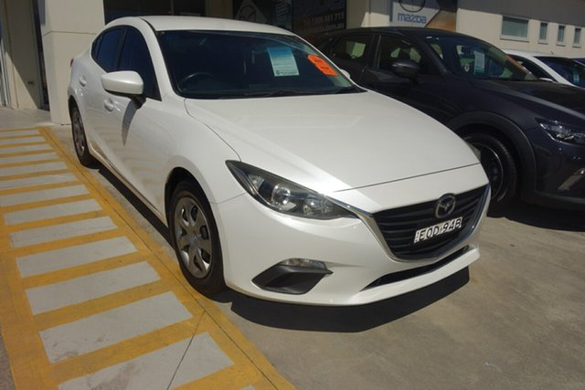 Used Mazda 3 BM5278 Neo SKYACTIV-Drive East Maitland, 2014 Mazda 3 BM5278 Neo SKYACTIV-Drive White 6 Speed Sports Automatic Sedan