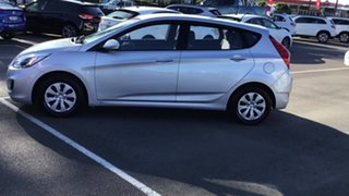 2016 Hyundai Accent RB3 MY16 Active Silver 6 Speed Constant Variable Hatchback