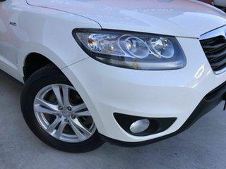 2011 Hyundai Santa Fe CM MY12 Highlander White 6 Speed Sports Automatic Wagon