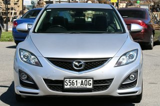 2011 Mazda 6 GH1052 MY12 Touring Silver 5 Speed Sports Automatic Sedan