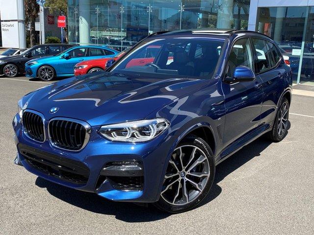 Used BMW X3 G01 xDrive30i M Sport Brookvale, 2021 BMW X3 G01 xDrive30i M Sport Phytonic Blue 8 Speed Auto Steptronic Sport Wagon