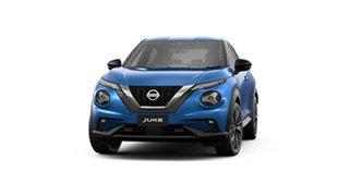 2021 Nissan Juke F16 Ti DCT 2WD Vivid Blue 7 Speed Sports Automatic Dual Clutch Hatchback.