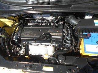 2008 Hyundai Getz TB MY09 S Yellow 5 Speed Manual Hatchback