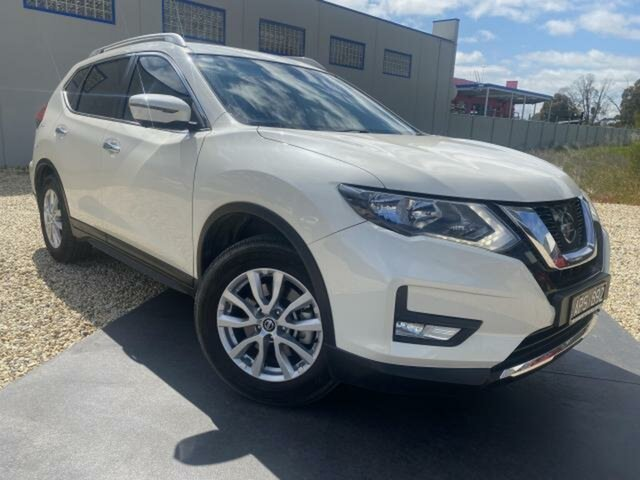 Used Nissan X-Trail T32 Series 2 ST-L 7 Seat (2WD) Wangaratta, 2017 Nissan X-Trail T32 Series 2 ST-L 7 Seat (2WD) Ivory Pearl Continuous Variable Wagon