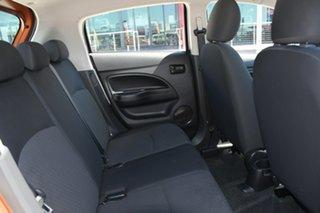 2016 Mitsubishi Mirage LA MY15 ES Burnt Orange 5 Speed Manual Hatchback
