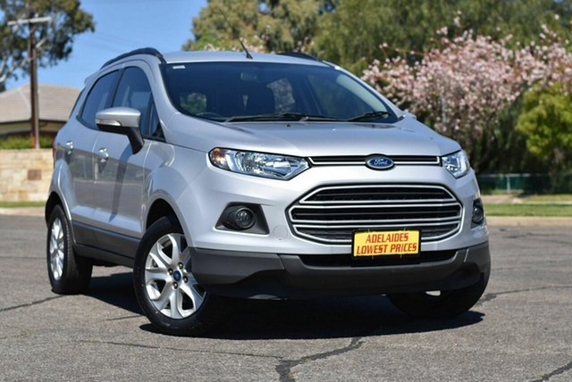 Used Ford Ecosport BK Trend PwrShift Enfield, 2015 Ford Ecosport BK Trend PwrShift Silver 6 Speed Sports Automatic Dual Clutch Wagon