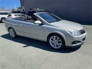 2007 Holden Astra AH MY08 Twin TOP Silver 6 Speed Manual Convertible.