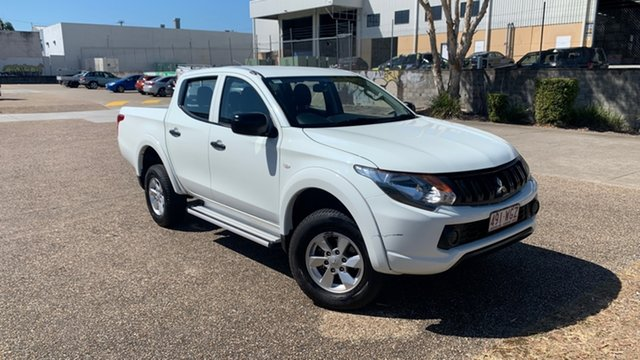 Used Mitsubishi Triton MQ MY16 GLX (4x4) Underwood, 2016 Mitsubishi Triton MQ MY16 GLX (4x4) White 5 Speed Automatic Dual Cab Utility