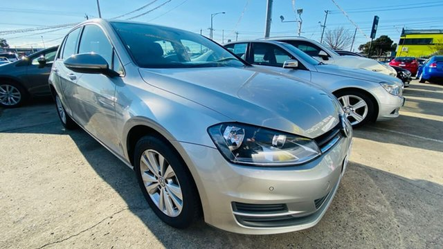 Used Volkswagen Golf VII MY14 90TSI DSG Comfortline Maidstone, 2014 Volkswagen Golf VII MY14 90TSI DSG Comfortline Silver 7 Speed Sports Automatic Dual Clutch
