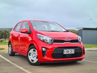 2021 Kia Picanto JA MY21 S Signal Red 4 Speed Automatic Hatchback.