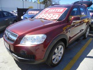 2007 Holden Captiva CG LX AWD Red 5 Speed Sports Automatic Wagon.