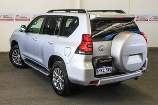 2020 Toyota Landcruiser Prado GDJ150R Kakadu Silver Pearl 6 Speed Sports Automatic Wagon.