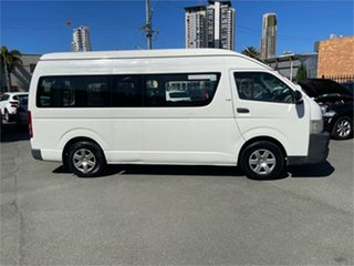 2006 Toyota HiAce KDH223R MY07 Commuter White 4 Speed Automatic Bus.